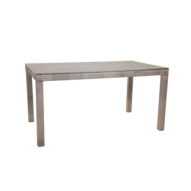 Greemotion Tisch mit Spraystoneplatte Manila, Mehrfarbig, ca. 140 x 80 x 74 cm online kaufen