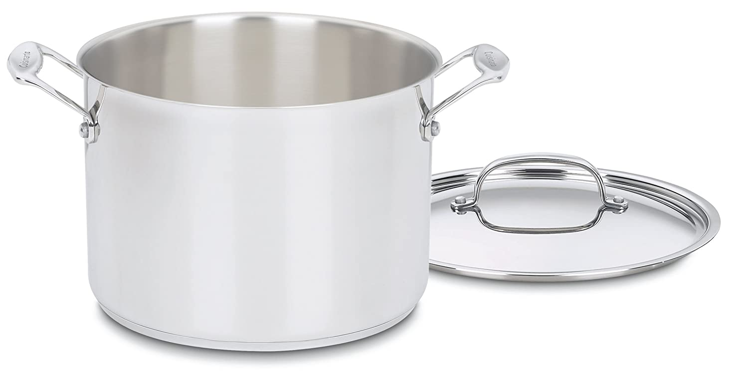 Cuisinart 766-24 Chef's Classic 8-Quart Stockpot with Cover $54.71
