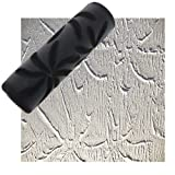 Drywall Texture Pattern Roller for Decorative Paint Texturing (Pin-Wheel Pattern)