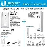 Ubiquiti R5AC-Lite Rocket AC 5GHz + AM-5G19-120 19dBi 5GHz Sector Antennas