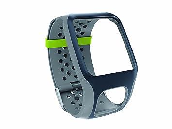 TomTom Cinturino Regolabile per Orologi GPS Runner e Multi-Sport, Grigio Scuro