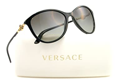 Versace 4251 GB111 Black 4251 Versace Sunglasses Women Cateye