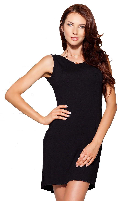 Elegantes Damen Negligé Nachthemd in schwarz mit edler Spitze bestellen