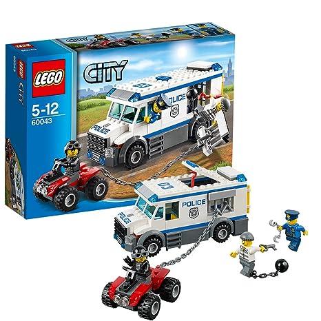 Lego City - 60043 - Jeu De Construction - Le Transport Du Prisonnier