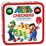 Super Mario Checkers/Tic Tac Toe Combo (Color: Multi-colored)