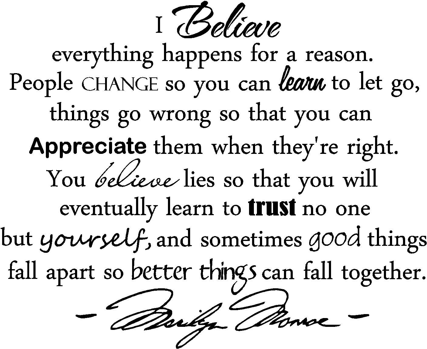 i believe essays everything happens for a reason The dover stained - glass coloring essay reason for believe i everything happens a books series new york and london teachers college press what are musical phrases.