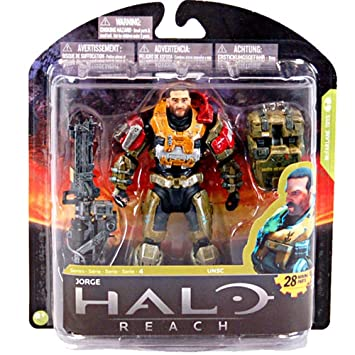 Halo Reach Series 4 - JORGE Figurine - McFarlane