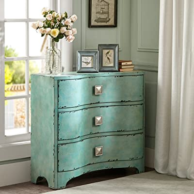 Crackle Bombe Chest Blue