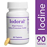 Optimox - Iodoral, High Potency Iodine Potassium Iodide Thyroid Support Supplement, 90 Tablets