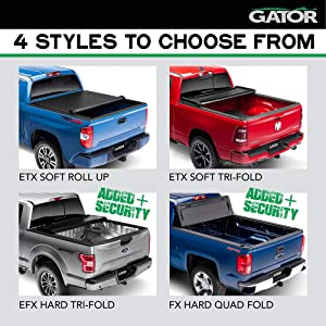 Automotive Tonneau Covers 59402 6 1 2 Ft Bed Gator Etx Soft Tri Fold Truck Bed Tonneau Cover Without Rail System Fits Toyota Tundra 2007 13