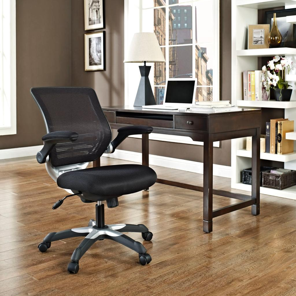 LexMod fice Rolling Adjustable Chair Leatherette