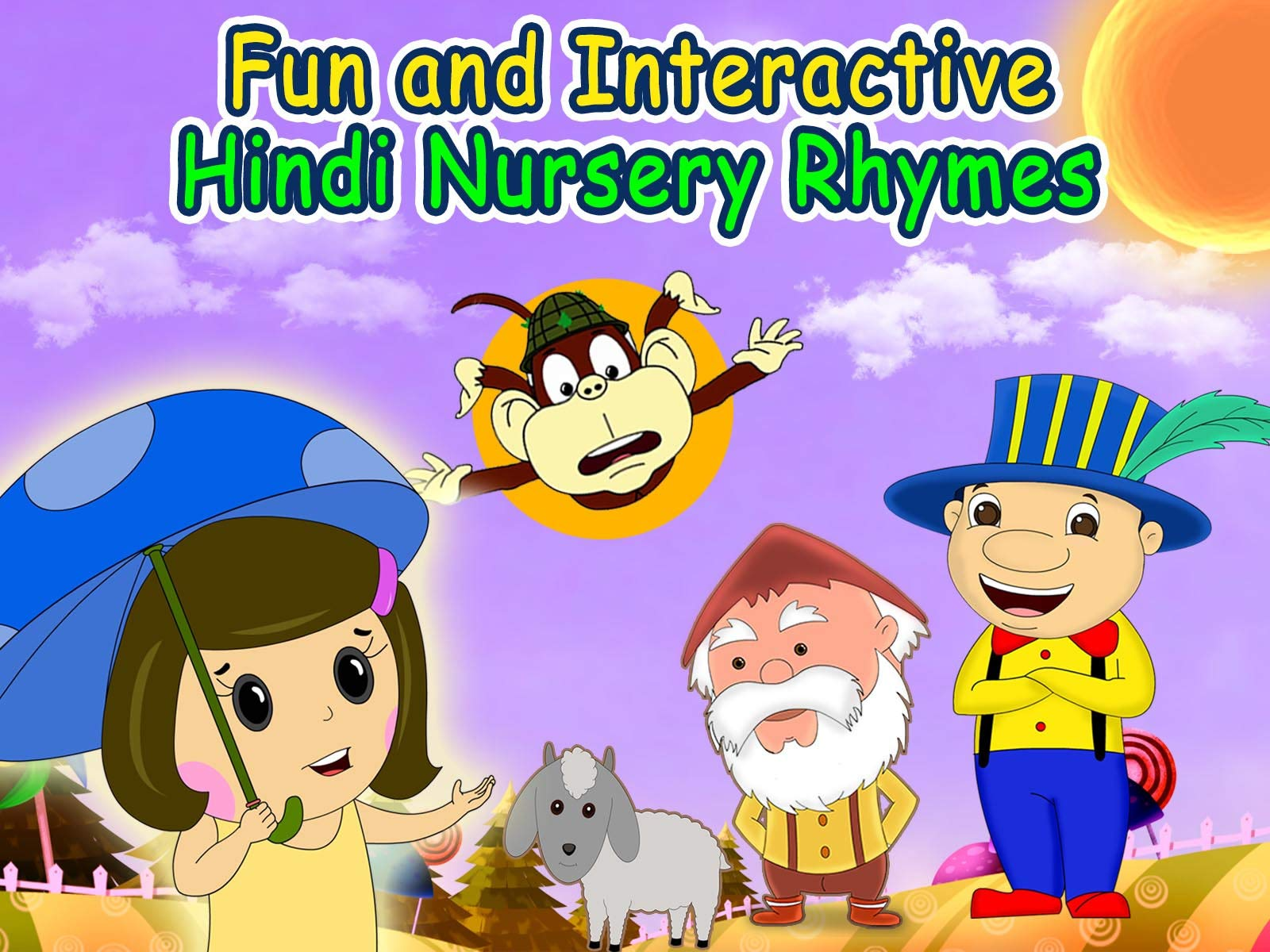Fun and Interactive Hindi Nursery Rhymes on Amazon Prime Instant Video UK