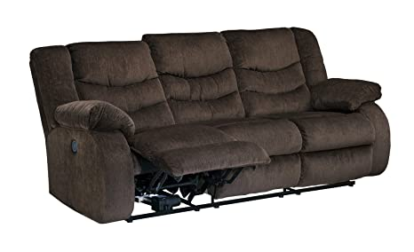 Garek Cocoa Reclining Power Sofa