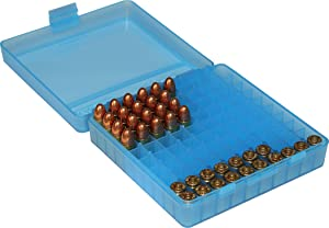 MTM 380/9MM Cal 100 Round Flip-Top Ammo Box