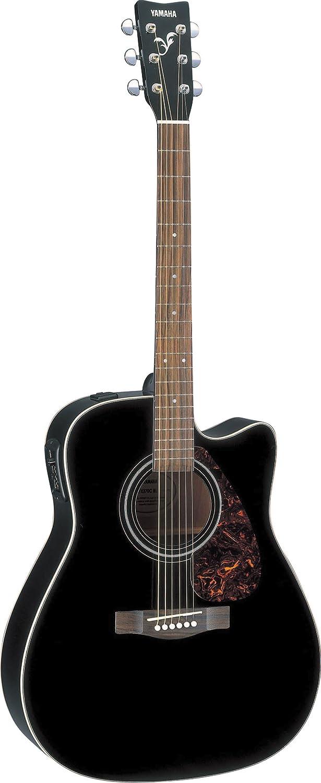 Yamaha fx370c full size electro acoustic guitar black for Yamaha acoustic guitar ebay