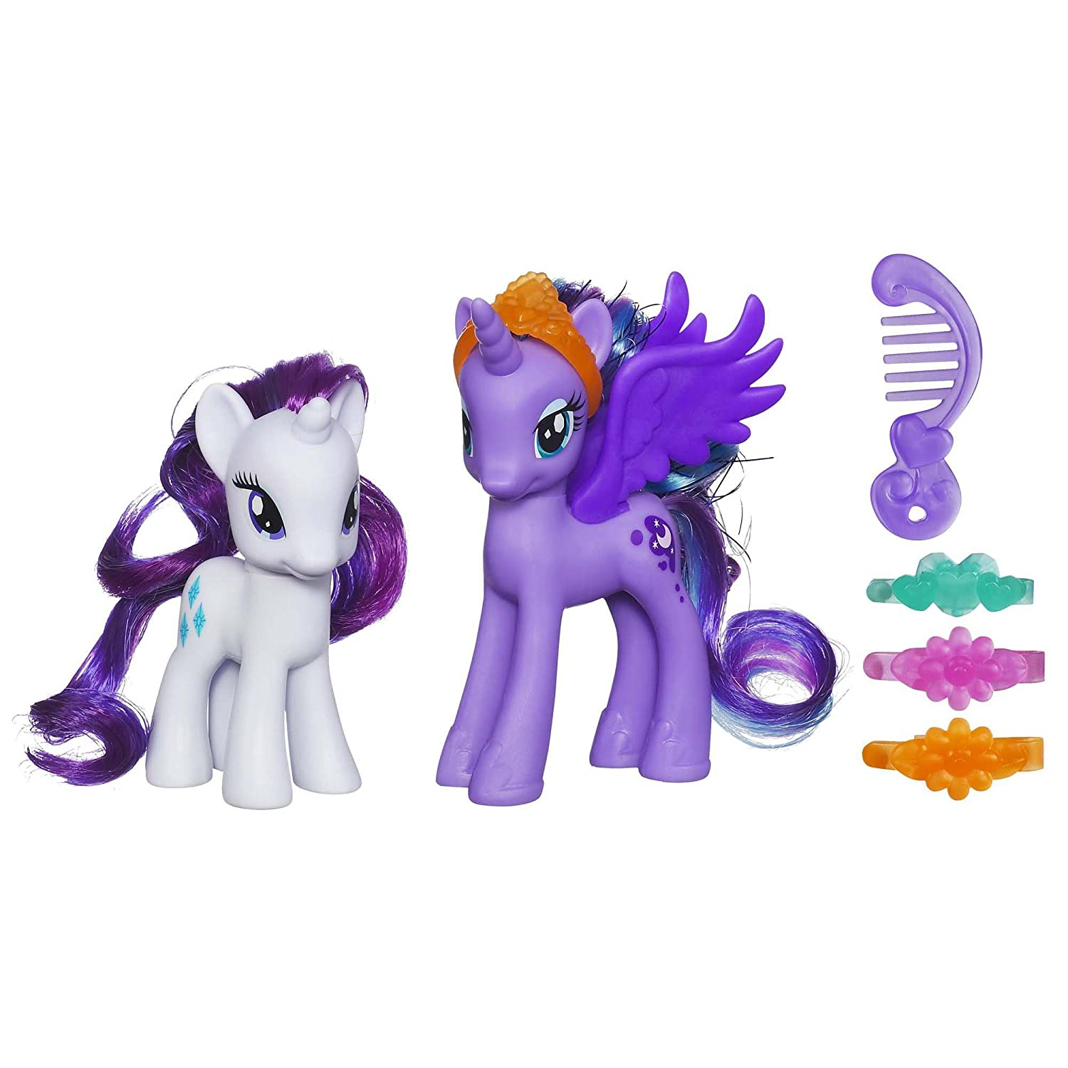 My little pony toys my daughters love to play with - Princesse poney ...