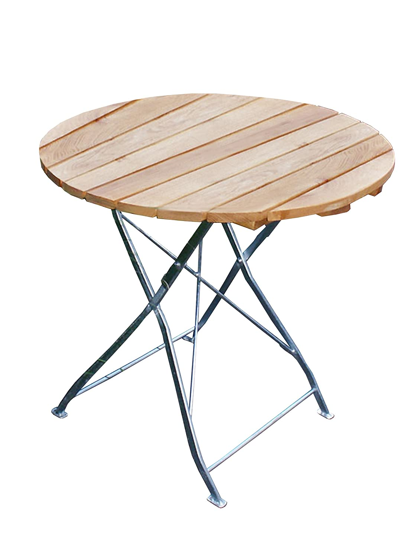 klapptisch bayreuth gestell stahl verzinkt belattung robinie gartentisch ca 77 cm. Black Bedroom Furniture Sets. Home Design Ideas