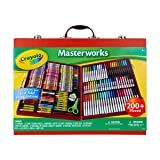 Crayola Masterworks Art Case, Over 200Piece, Gift for Kids, Age 4, 5, 6, 7 (Amazon Exclusive)