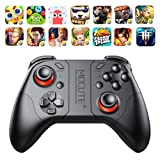 DESTINLEE Mobile Gameped Controller, Bluetooth Gamepad Android Joystick, PC Wireless Controller Remote VR Game Pad for PC Smart Phone for VR TV BOX