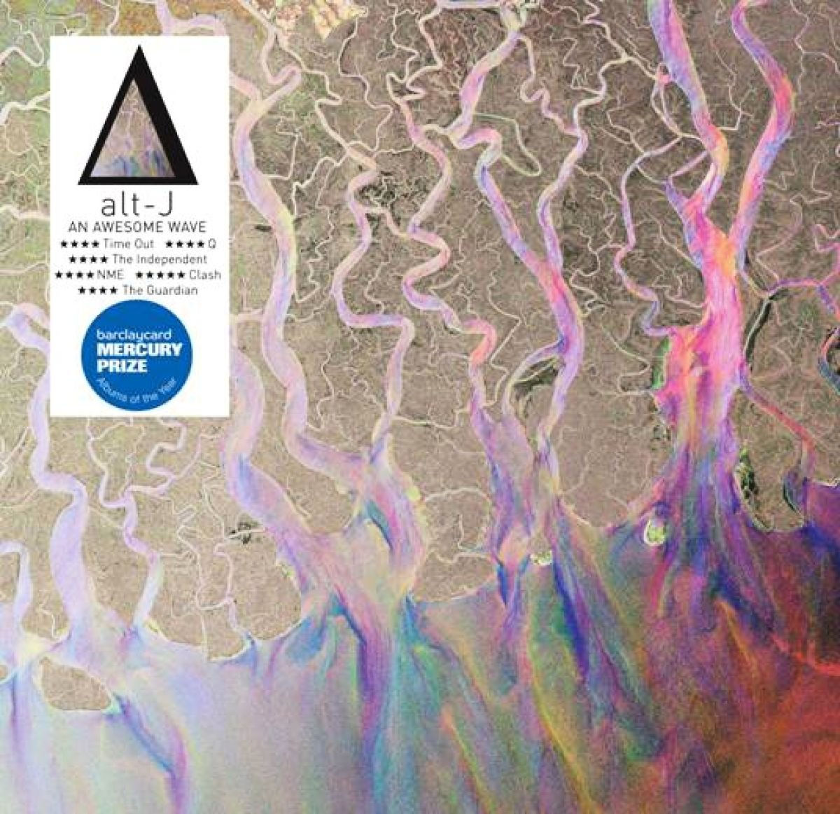 Alt j an Awesome Wave Album Cover Alt-j Awesome Wave Limited