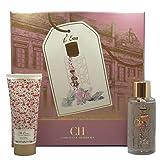 Carolina Herrera 'Ch' L'eau For Women 2 Piece Set (3.4 Oz Eau De Toilette Spray + 3.4 Oz Body Lotion) (Color: clean, Tamaño: 2 PC Set)