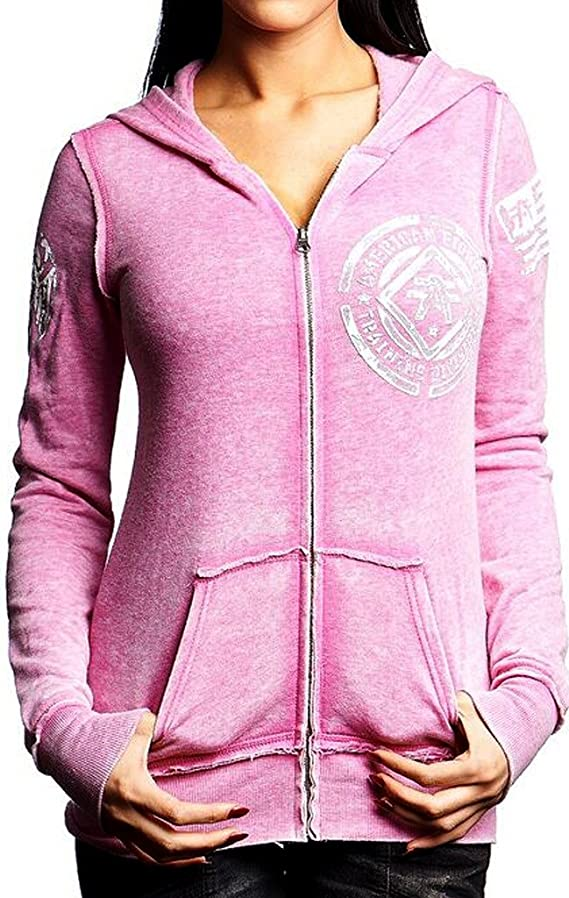 American Fighter Women's Howard Full Zip Hoodie