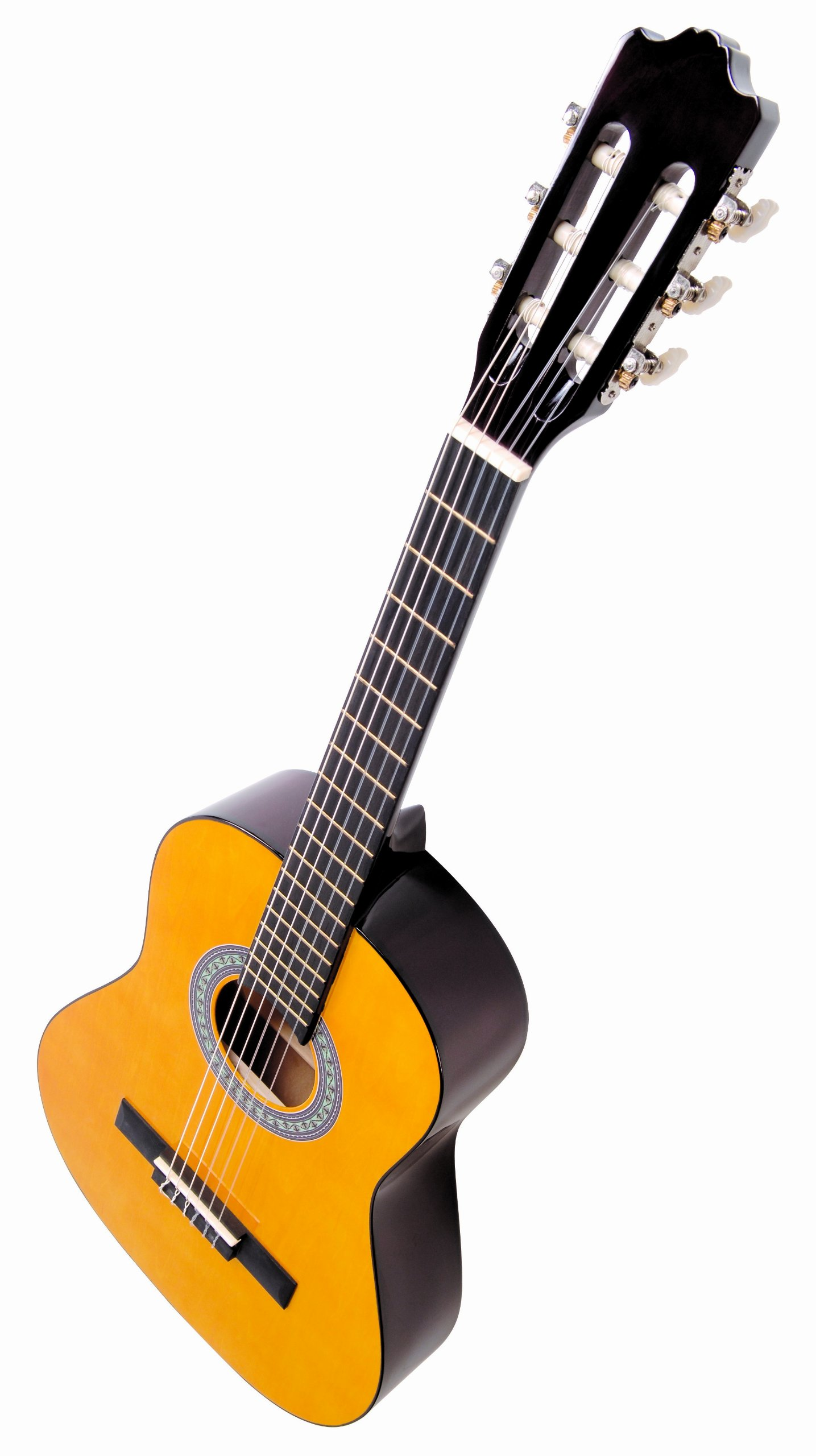 encore enc12oft natural wood half size classic guitar outfit ebay. Black Bedroom Furniture Sets. Home Design Ideas