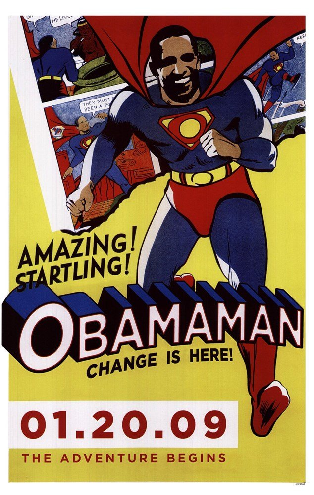 Super Obama - Obamaman