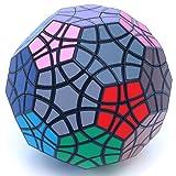 Tuttminx Very Puzzle Black Twisty Toy 32 Faces Puzzle Cube