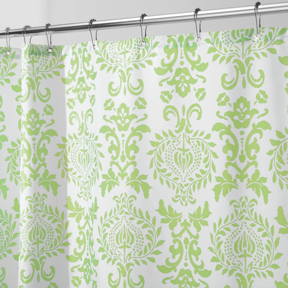 Damask Shower Curtain Check Price Park B. Smith Circle Central Shower ...