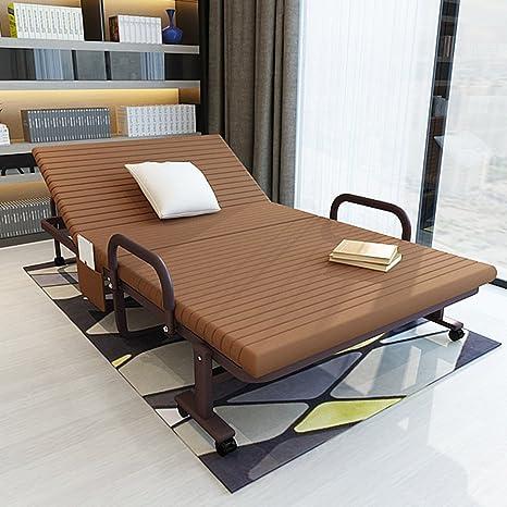 cama plegable/cama individual/cama de la siesta/la cama de almuerzo de oficina/sofá cama doble/cama de campamento-B