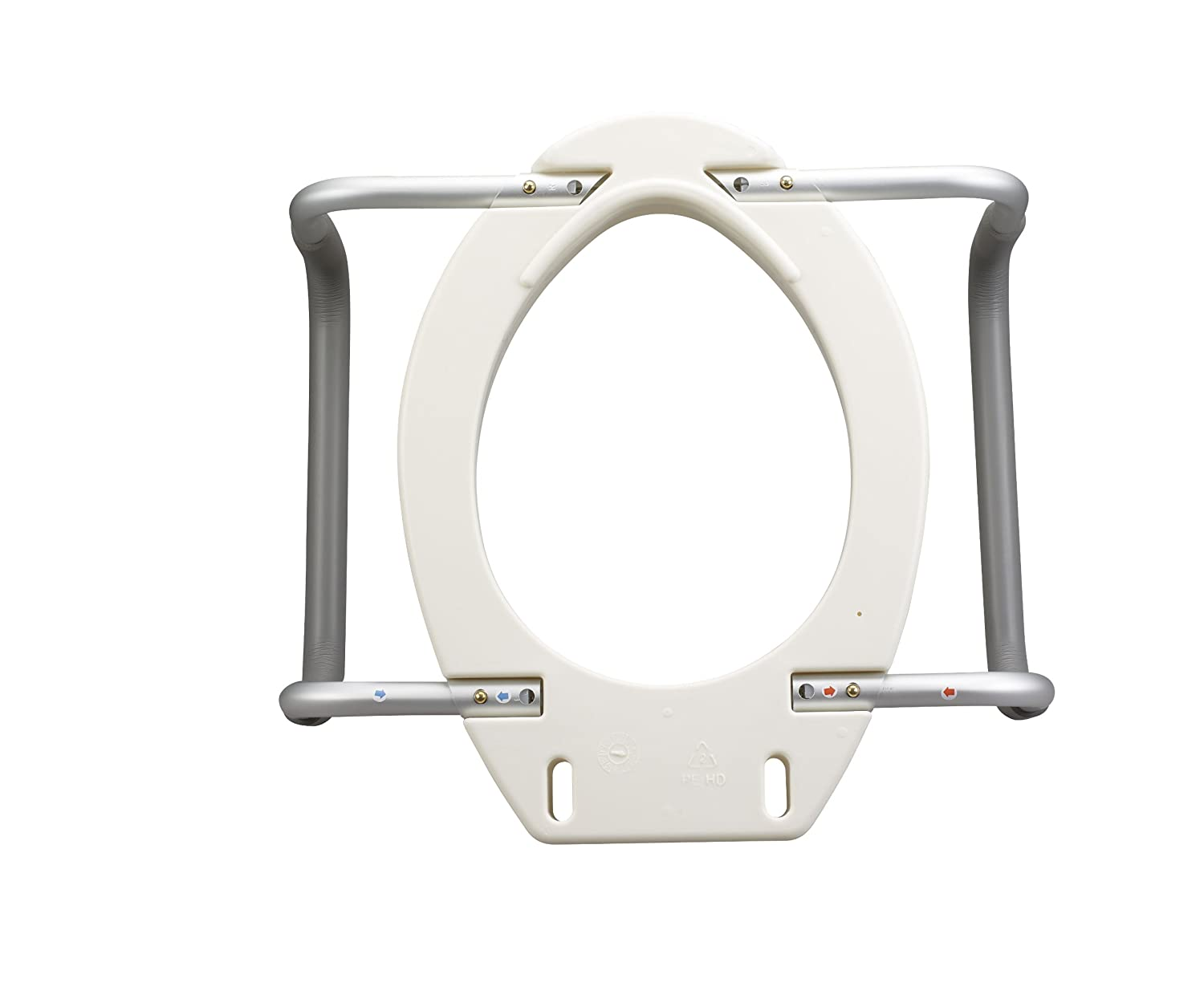 Drive Medical Raised Toilet Seat Elongated With Removable
