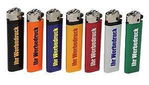 ReibradFeuerzeug mit Druck 1farbig / Werbung / Logo / 200 Stück   Kundenbewertung: