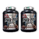 ISO 100 - Fudge Brownie - 5 lb (2 Pack)