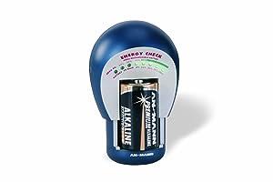 Ansmann Energy Check - Medidor de energía y batería (9V, 25 Ohmio, AA, AAA)  Electrónica revisión y descripción más