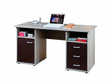 Links 21200220 Schreibtisch Buromöbel Burotisch Arbeitstisch Computertisch Sonoma Truffel NEU