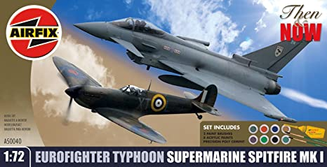 Airfix - A50040 - Maquette - Super Marine Pitfire MKLLA