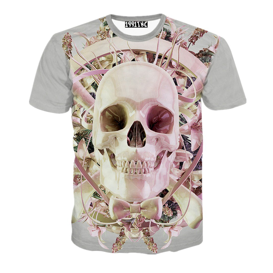 Men's Fashion Pirate Flag Skull Print 3D T-Shirts