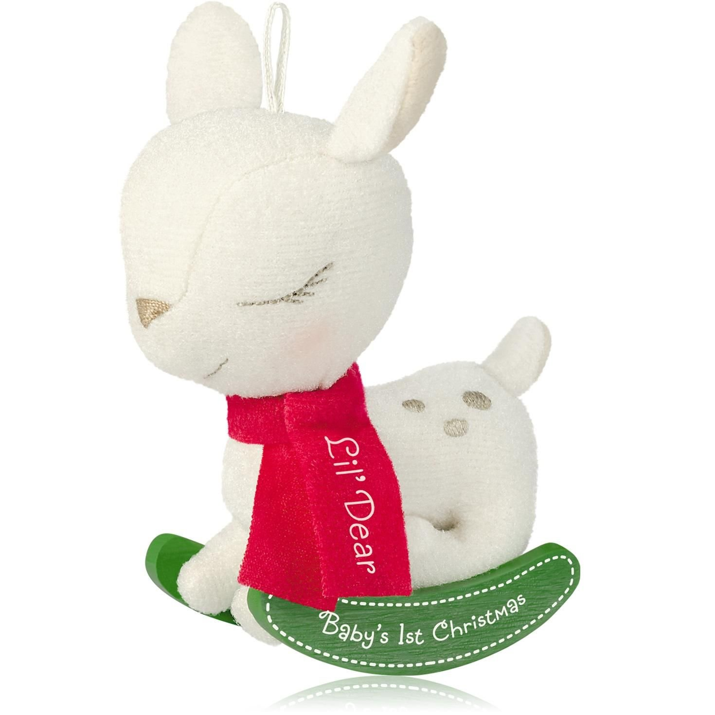 Baby's 1St Christmas Lil' Dear - 2014 Hallmark Keepsake Ornament