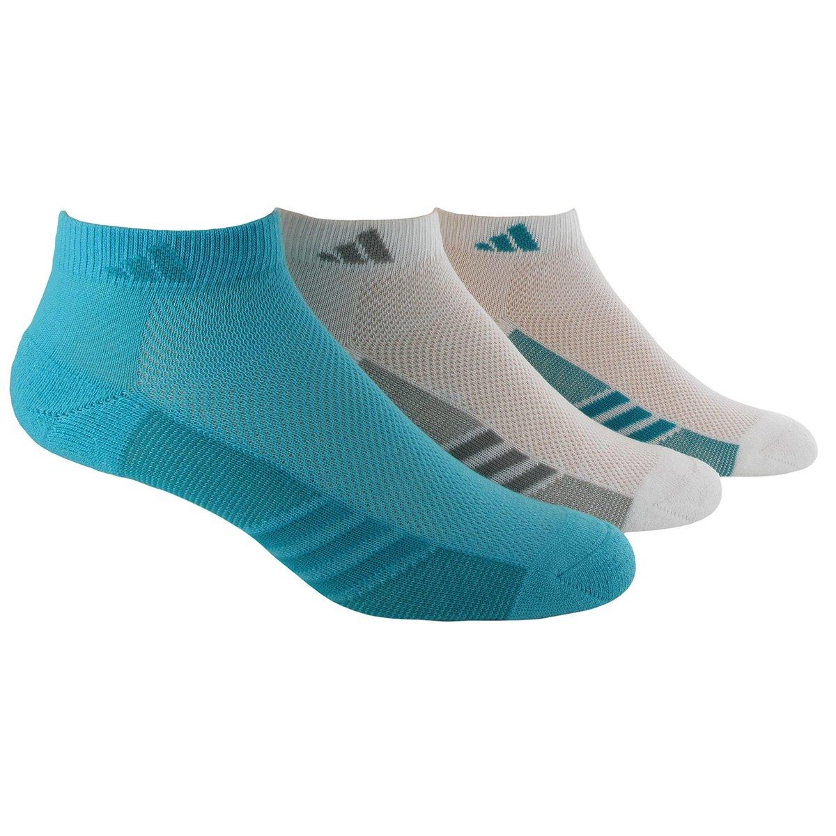 adidas Women's Superlite Low Cut Socks (Pack of 3) adidas boys climacool x ii low cut socks pack of 2