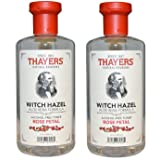 Thayers Rose Petal Witch Hazel with Aloe Vera - 12 oz.(2 pack) (Tamaño: Pack of 2)