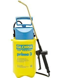 GLORIA Prima 3 Drucksprüher Unkrautspritze, 3L, verstellbare Messingdüse  19,3e:23e  4.2v5 1930x  B00AZYTPIY