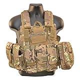 CIRAS Type Molle Combat Tactical Vest (Multicam) (Color: Multicam)