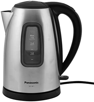 Panasonic NC-SK1 1.6-Litre Electric Kettle (Black)