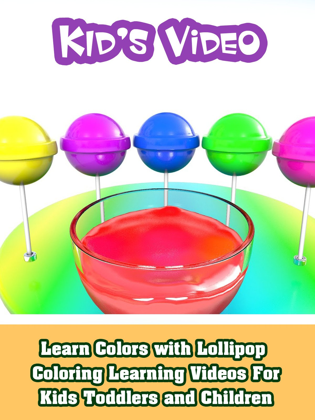 Learn Colors with Lollipop Coloring Learning Videos For Kids Toddlers and Children on Amazon Prime Instant Video UK
