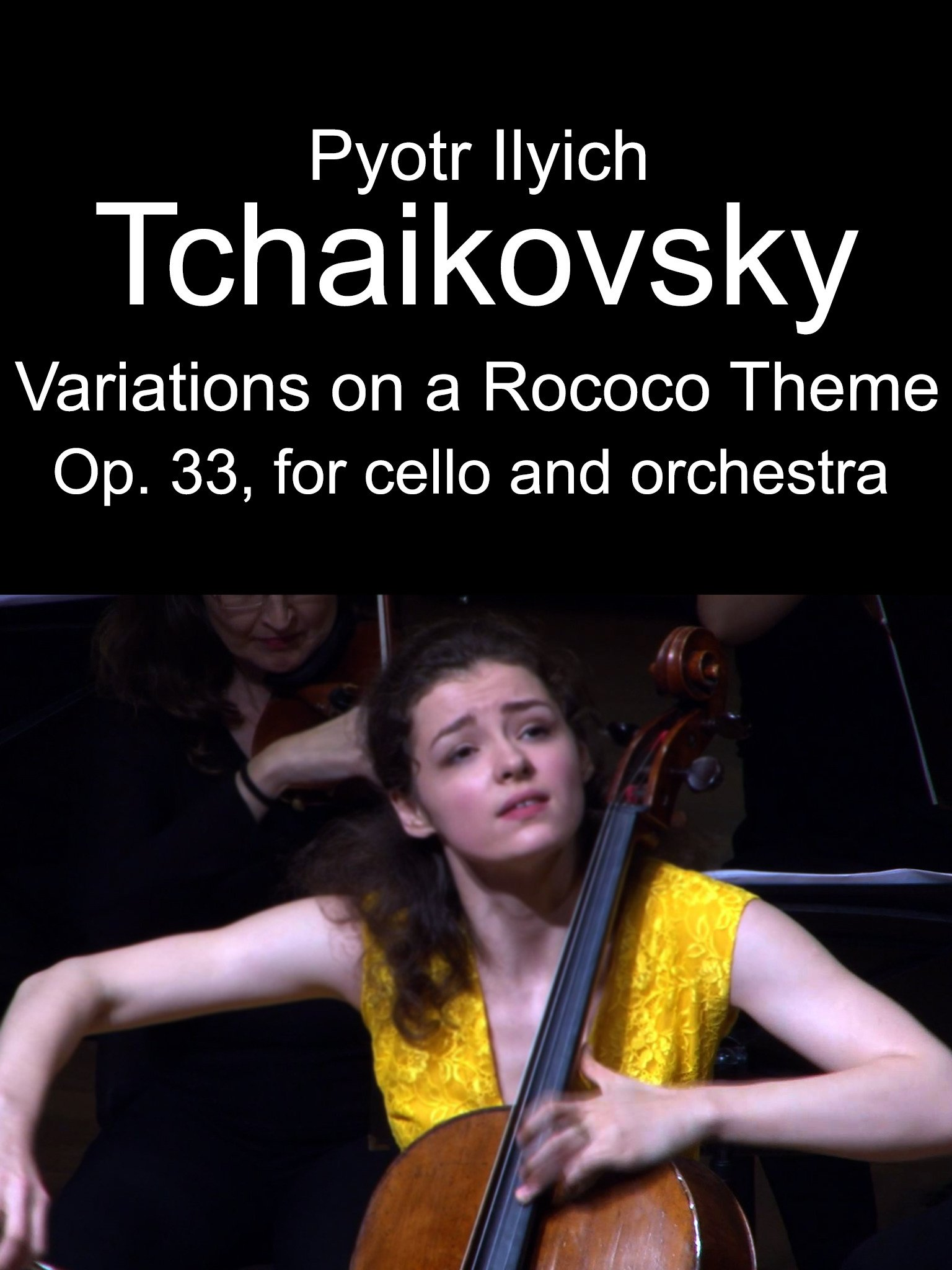Tchaikovsky The Variations on a Rococo Theme