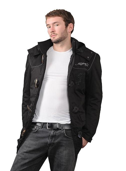 Ed hardy eH 105-015A tiger veste en textile noir, numéro 1