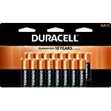 Duracell - CopperTop AA Alkaline Batteries - long lasting, all-purpose Double A battery for household and business - 16 count (Tamaño: 16 Count)