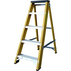 Lyte 5-Tread High Quality Glassfibre Swingback Step Ladder