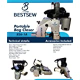 Industrial Portable Bag Closer Closing Stitching Sewing Machine Sack Sewer w/ 1 Spool. New
